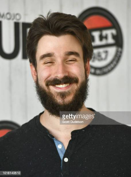 Singer Adam Met of the band AJR attends the ALT 987 Summer Camp Concert at Queen Mary Events Park on August 12 2018 in Long Beach California