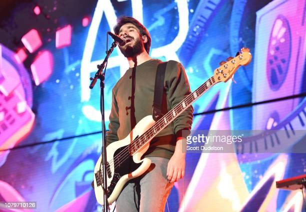 Singer Adam Met of the band AJR performs onstage during day 1 of the KROQ Absolut Almost Acoustic Christmas 2018 at The Forum on December 08 2018 in...