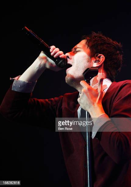 Singer Adam Young performs onstage during Power 961's Jingle Ball 2012 at the Philips Arena on December 12 2012 in Atlanta