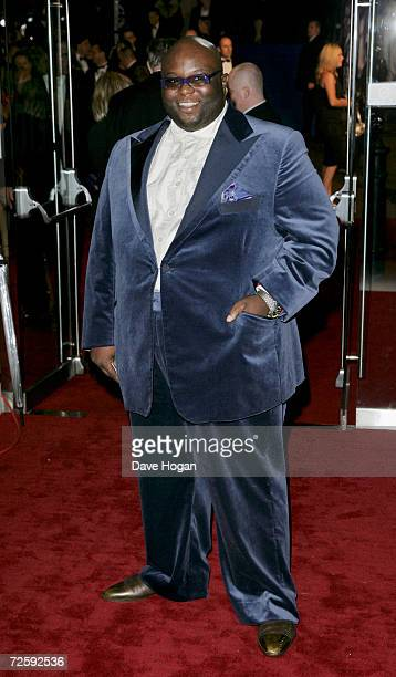 Singer Ade attends the Royal Film Performance 2006 and World Premiere of the 21st James Bond movie 'Casino Royale' at the Odeon Leicester Square on...