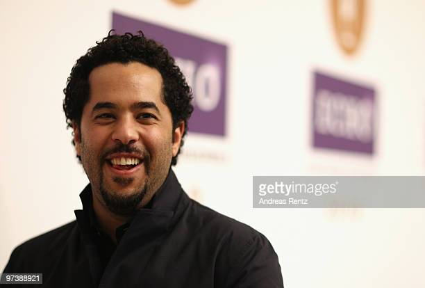 Singer Adel Salah Mahmoud Eid ElTawil attends the Echo press conference at Messe Berlin on March 3 2010 in Berlin Germany