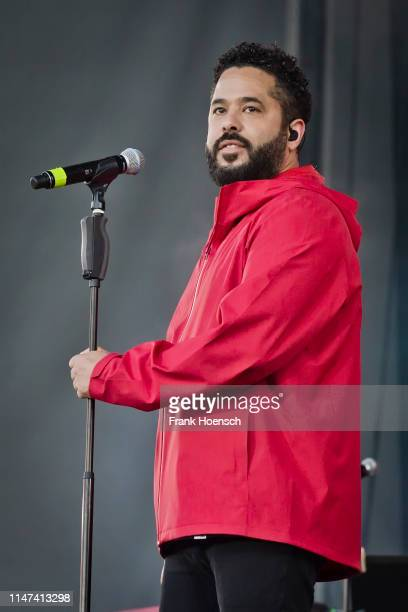 Singer Adel Tawil performs live on stage during the Peace X Peace Festival at the Parkbuehne Wuhlheide on June 1, 2019 in Berlin, Germany.