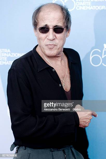 Singer Adriano Celentano attends the photo call of Yuppi Du during 65th Venice Film Festival