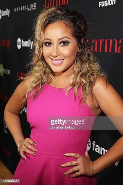 Singer Adrienne Bailon attends Latina Magazine's '30 Under 30' Party at Mondrian Los Angeles on November 13 2014 in West Hollywood California