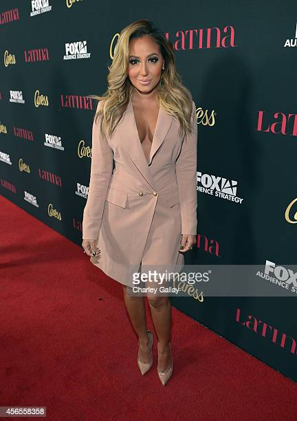 Singer Adrienne Bailon attends Latina Magazine's Hollywood Hot List Party at Sunset Tower on October 2 2014 in West Hollywood California