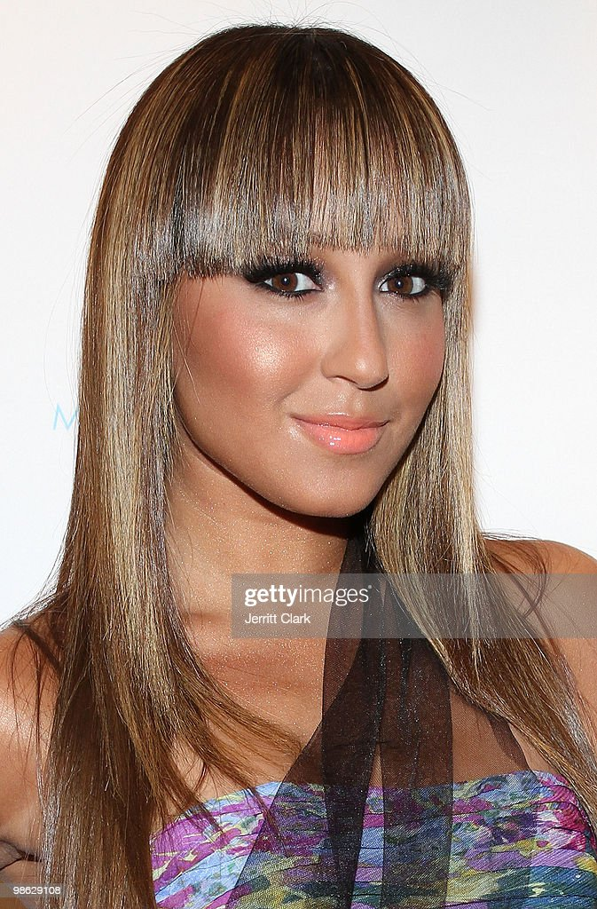 Singer Adrienne Bailon attends the 'Cuts Of Our Infirmities' book launch party at the Tracy Reese Boutique on April 22, 2010 in New York City.