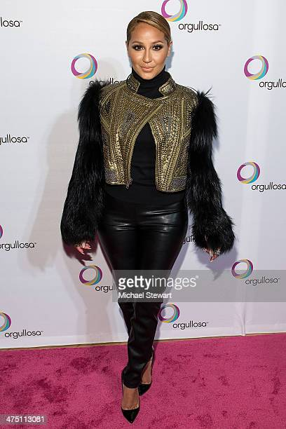 Singer Adrienne Bailon attends the Nueva Latina campaign launch at Helen Mills Event Space on February 26 2014 in New York City