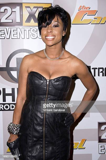 Singer Adrienne Mariya attends PHLEXtravaganza at Level 3 club in Hollywood Highland Center on May 22 2013 in Hollywood California