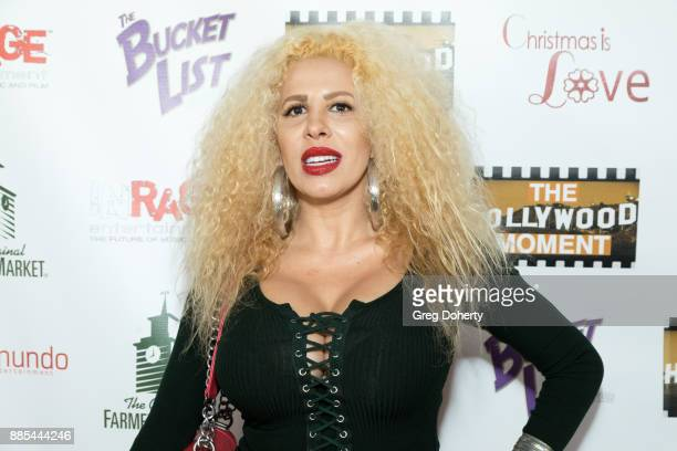 Singer Afida Turner attends The Salvation Army Celebrity Kettle Kickoff - Red Kettle Hollywood at the Original Farmers Market on November 30, 2017 in...