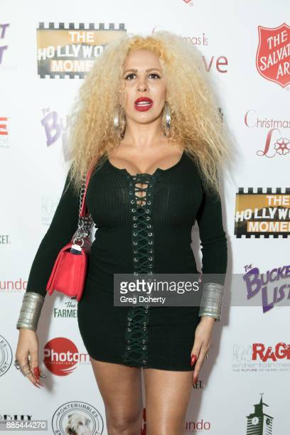 Singer Afida Turner attends The Salvation Army Celebrity Kettle Kickoff Red Kettle Hollywood at the Original Farmers Market on November 30 2017 in...