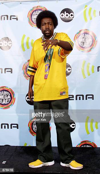 Singer Afroman attends the 2001 Radio Music Awards at the Aladdin Resort and Casino October 26 2001 in Las Vegas NV