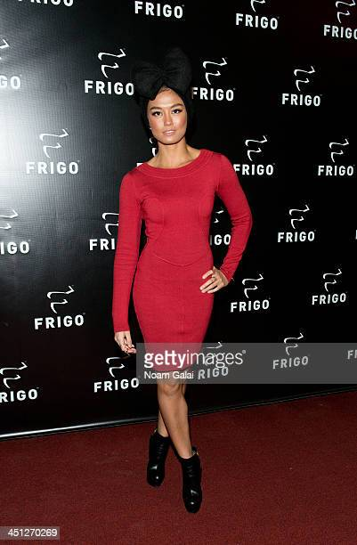 Singer Agnez Mo attends the launch party of the Frigo PopUp Store on November 21 2013 in New York City