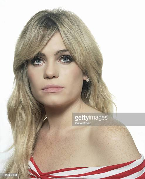 Singer Aimee Duffy poses for a portrait shoot in London on July 28 2007