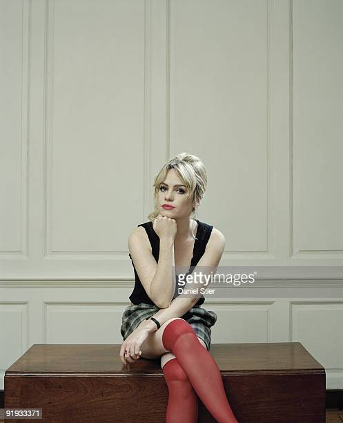 Singer Aimee Duffy poses for a portrait shoot in London on July 28, 2007.