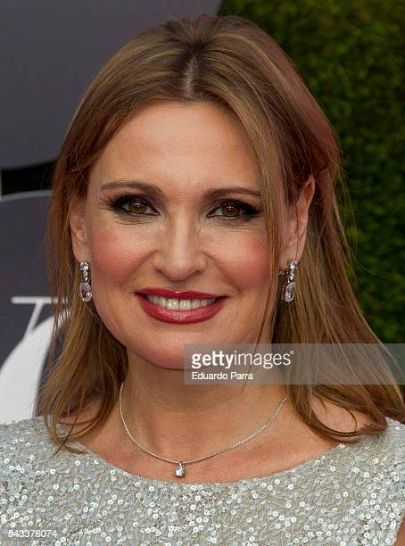 Singer Ainhoa Arteta attends the 'Yo Dona' international awards at La Quinta de la Munoza on June 27 2016 in Madrid Spain