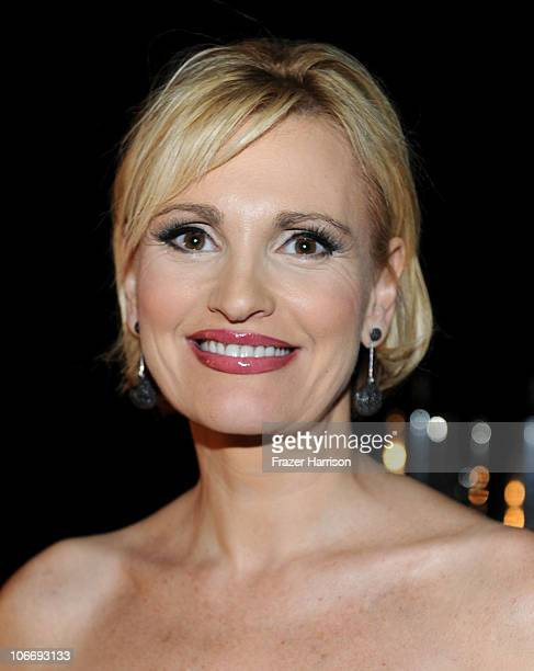 Singer Ainoa Arteta during the 2010 Person of the Year honoring Placido Domingo at the Mandalay Bay Events Center inside the Mandalay Bay Resort...