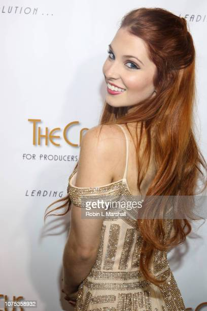 Singer Ainsley Ross attends the 36th Annual Caucus Awards Dinner at Skirball Cultural Center on November 30 2018 in Los Angeles California