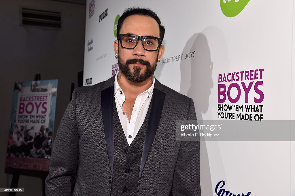 "Premiere Of Gravitas Ventures' ""Backstreet Boys: Show 'Em What You're Made Of"" - Red Carpet"