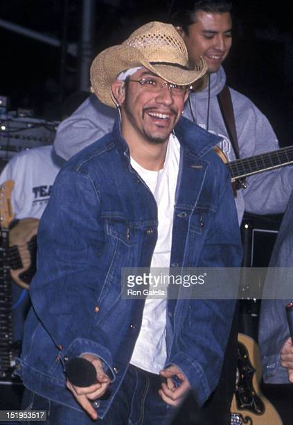 Singer AJ McLean of the Backstreet Boys performs at 'The Today Show' Summer Concert Series on July 2 2001 at Rockefeller Center in New York City