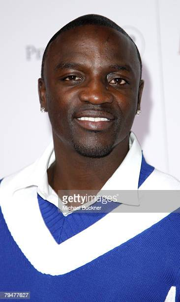 Singer Akon attends MAXIM Magazine kicks off Super Bowl weekend at Grand Opening of Stone Rose at the Fairmont Scottsdale Princess Resort on February...