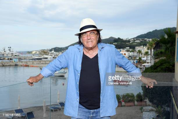 Singer Al Bano Carrisi attends 2019 Ischia Global Film Music Fest on July 15 2019 in Ischia Italy