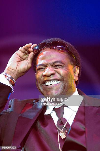 Singer Al Green, performs at the North Sea Jazz Festival on July 8th 2005 in Amsterdam, Netherlands.