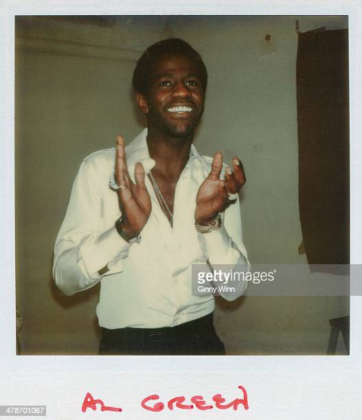 Singer Al Green poses for a Polaroid portrait circa 1975 in Los Angeles, California. .