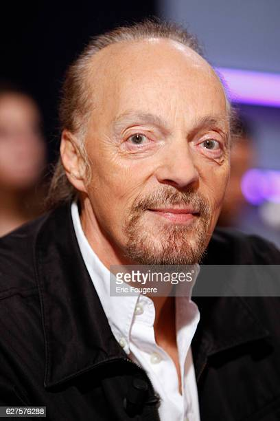 Singer Alan Stivell Photographed in PARIS