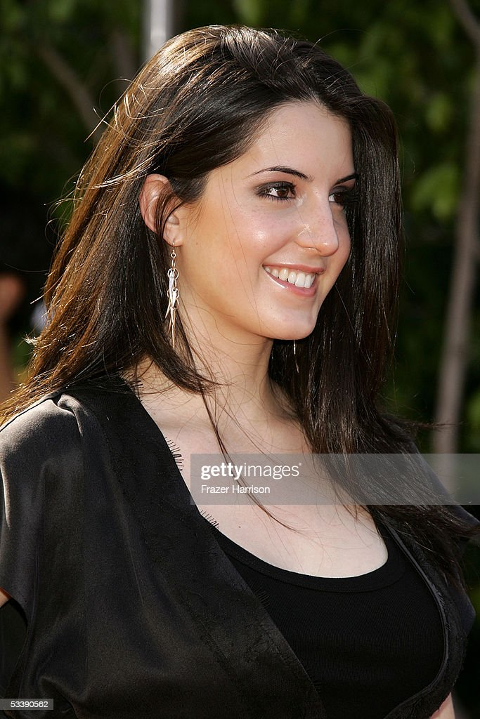 Singer Alana Grace arrives at the 2005 Teen Choice Awards held at Gibson Amphitheatre at Universal CityWalk on August 14, 2005 in Universal City, California.