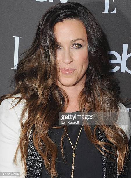 Singer Alanis Morissette arrives at the 6th Annual ELLE Women In Music Celebration Presented by eBay at Boulevard3 on May 20 2015 in Hollywood...