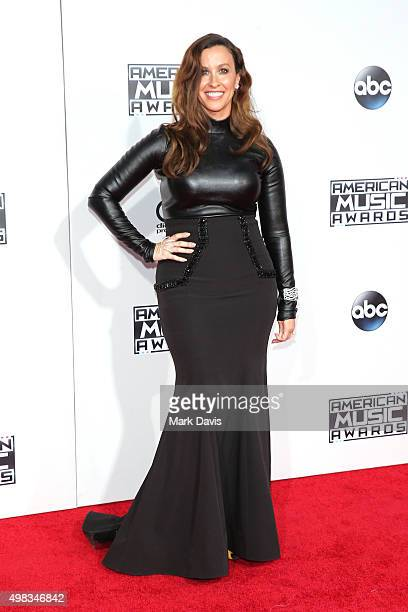 Singer Alanis Morissette attends the 2015 American Music Awards at Microsoft Theater on November 22 2015 in Los Angeles California