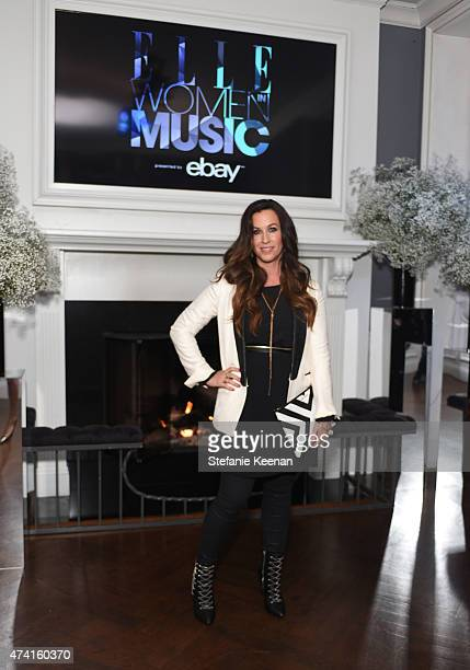 Singer Alanis Morissette attends the 6th annual ELLE Women In Music celebration presented By eBay Hosted by Robbie Myers with performances by Alanis...