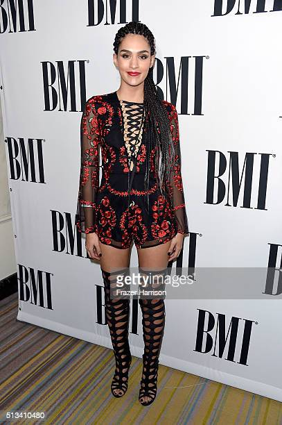 Singer Alaya attends the 23rd Annual BMI Latin Awards at the Beverly Wilshire Four Seasons Hotel on March 2 2016 in Beverly Hills California