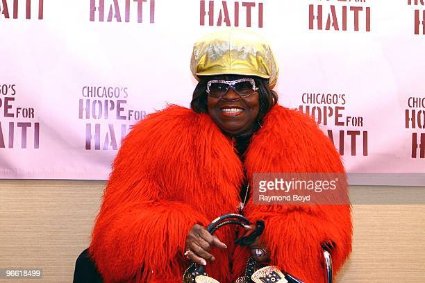 Singer Albertina Walker poses for photos at House Of Hope in Chicago Illinois on February 08 2010