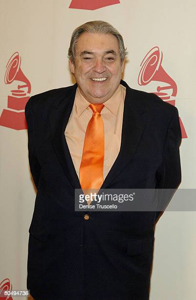 Singer Alberto Cortez attends the 8th Annual Latin GRAMMY Awards Special Awards Ceremony at The Four Seasons Hotel on November 07 2007 in Las Vegas...