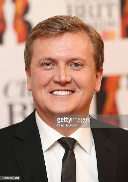 Singer Aled Jones attends the Classic BRIT Awards at the Royal Albert Hall on October 2 2012 in London England