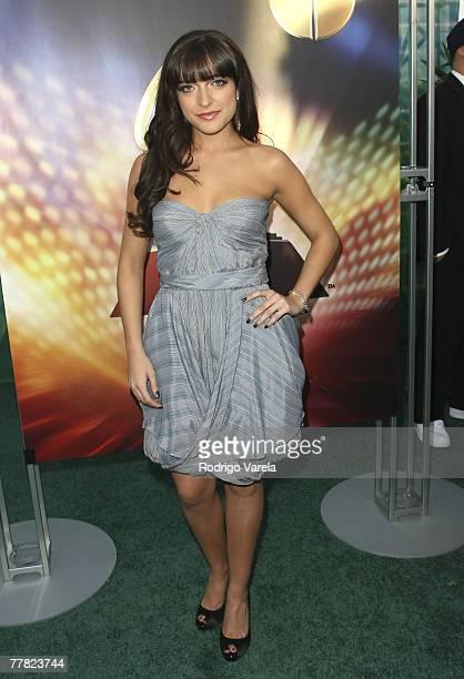 Singer Alejandra Alberti arrives at the 8th Annual Latin GRAMMY Awards at Mandalay Bay on November 8, 2007 in Las Vegas, Nevada.