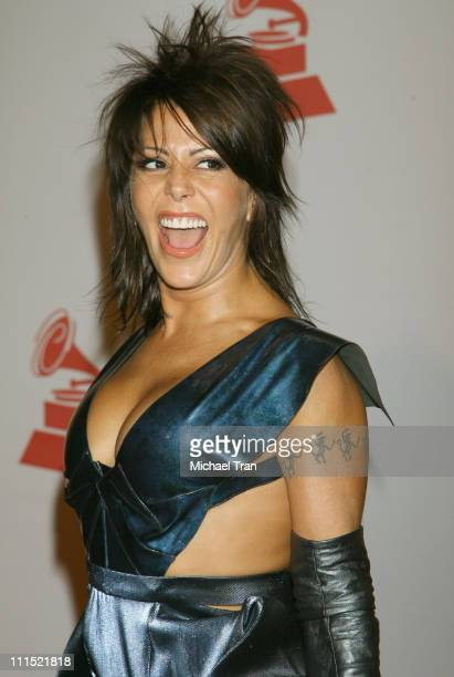 Singer Alejandra Guzman arrives at the 2008 Latin Recording Academy Person of the Year awards tribute to Gloria Estefan held at the George R. Brown...