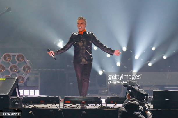 Singer Alejandro Fernandez performs at the Mandalay Bay Events Center on September 15 2019 in Las Vegas Nevada