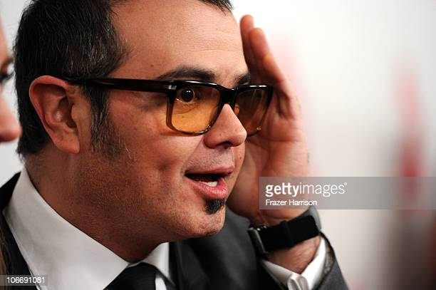 Singer Aleks Syntek arrives at the 2010 Person of the Year honoring Placido Domingo at the Mandalay Bay Events Center inside the Mandalay Bay Resort...