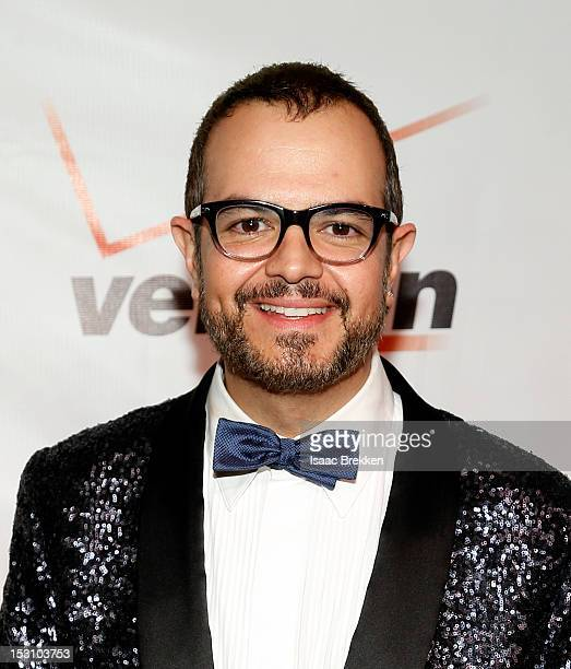 Singer Aleks Syntek arrives at the Padres Contra el Cancer's 12 annual 'El Sueno de Esperanza' gala at the New Tropicana Las Vegas on September 29...