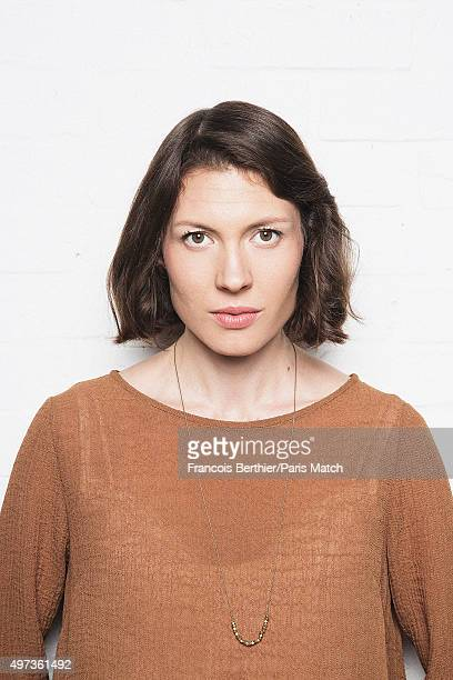 Singer Alela Diane is photographed for Paris Match on October 14 2015 in Paris France