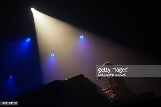 US singer Alela Diane performs during the 42th edition of 'Le Printemps de Bourges' rock and pop music festival in Bourges on april 27 2018