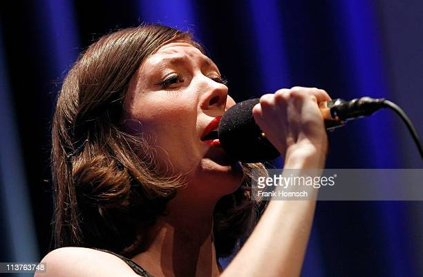 Singer Alela Diane performs live during a concert at the Babylon on May 5 2011 in Berlin Germany