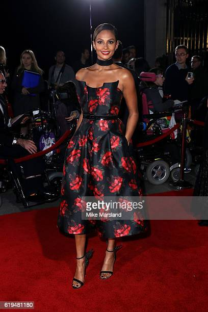 Singer Alesha Dixon attends the Pride Of Britain Awards at The Grosvenor House Hotel on October 31 2016 in London England