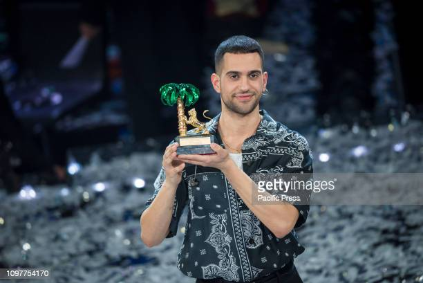 B singer Alessandro Mahmood awarded as winner of the 69th edition of Sanremo Music Festival 2019