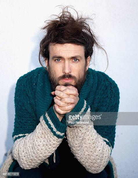 Singer Alex Ebert of Edward Sharpe and the Magnetic Zeros attends the 'Beatles Reimagined' Album premiere celebrating the 50th anniversary of The...