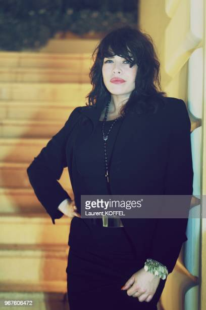 Singer Alex Hepburn portrait session during 2013 inaugural LIFE Summit on May 15 2013 at the GrandHotel of CapFerrat France