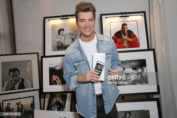 Singer Alex Sparrow attends the GBK STK at The W Hotel PreGrammy Lounge on February 9 2019 in Los Angeles California