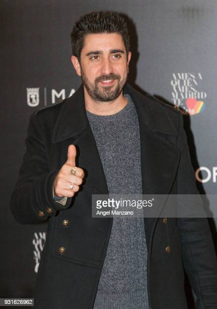 Singer Alex Ubago attends 'The Best Day Of My Life' Madrid premiere at Callao cinema on March 13 2018 in Madrid Spain